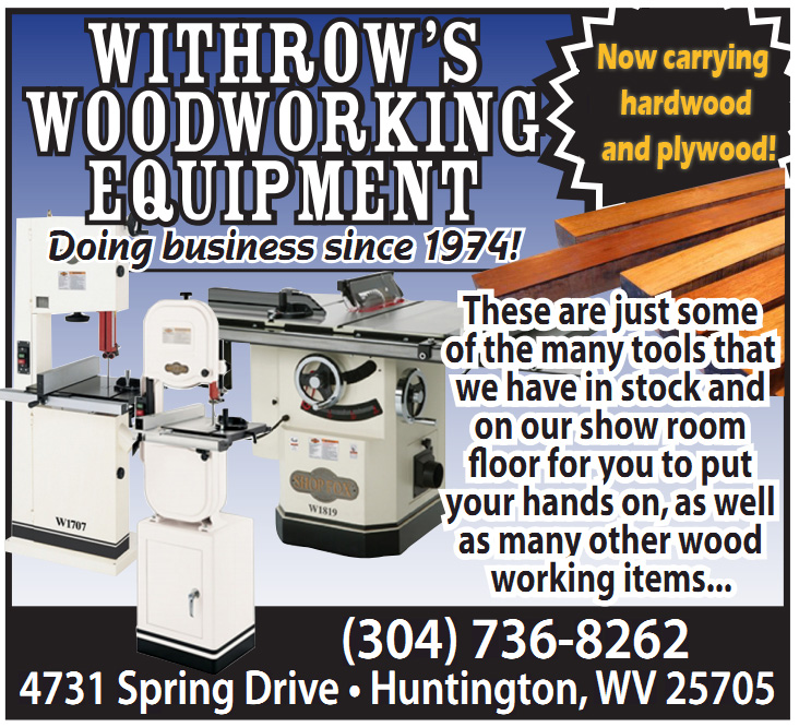 Withrow's Woodworking Equipment & Supplies